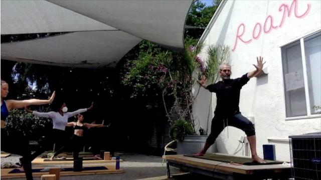 CHAD LEVEL 2 -- KAPINJALASANA (variation of Side Plank)