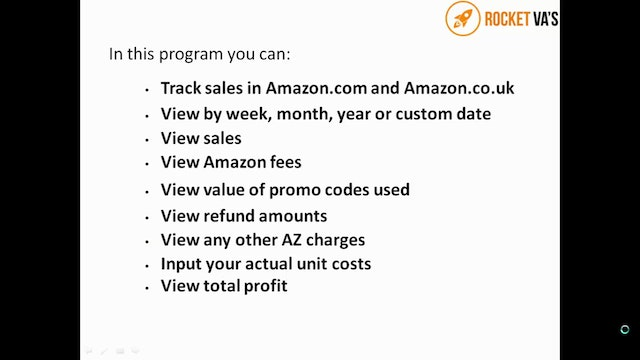 VA 16 How to track sales, promos and refunds