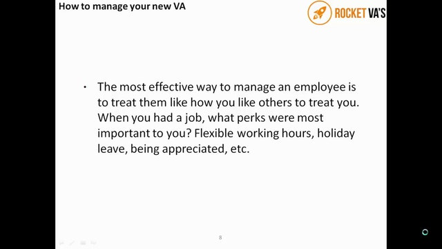 VA 1 Find hire and manage your VA Part 3