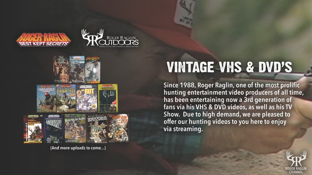 Vintage Roger VHS & DVD's