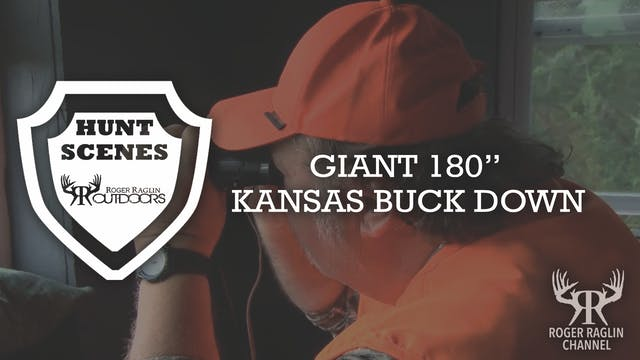 "Giant 180"" Kansas Buck Down • Hunt Sc..."