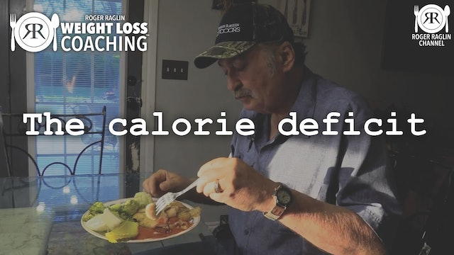 11. The calorie deficit • Weight Loss Coaching