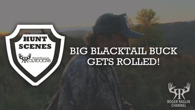 Big Blacktail Buck Gets Rolled • Hunt...