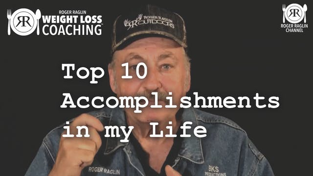 18.  Top 10 Accomplishments • Weight ...