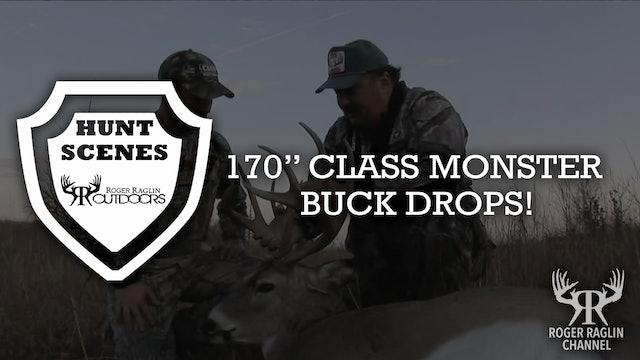 """170"""" Class Monster Buck Drops! • Hunt Scenes"""