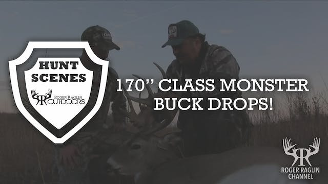 "170"" Class Monster Buck Drops! • Hunt..."