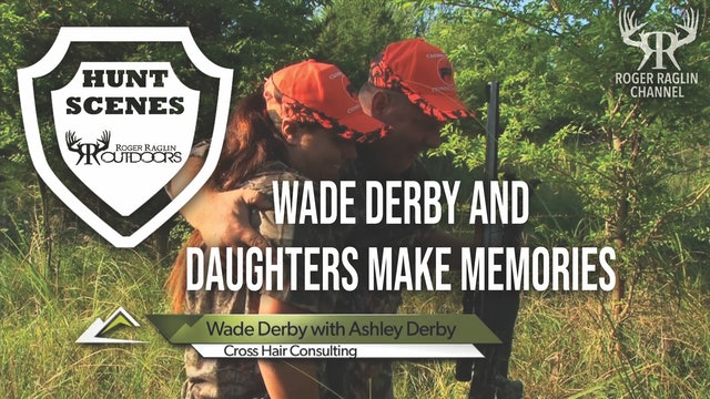 Wade Derby and Daughters in Kansas • Hunt Scenes
