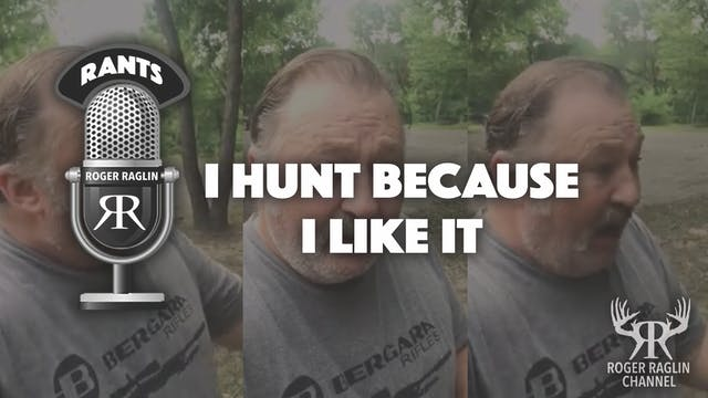I hunt because I like it - Part 1 • R...