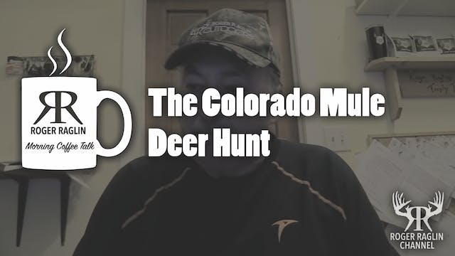 The Colorado Mule Deer Hunt • Coffee ...
