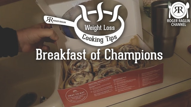 Breakfast of Champions • Weight Loss Cooking
