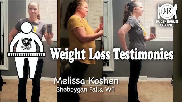 Melissa Koshen, Sheboygan Falls Wisconsin