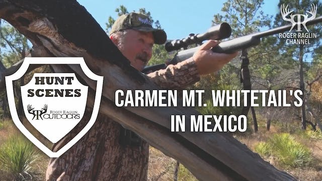 Carmen Mt. Whitetail's in Mexico • Hu...