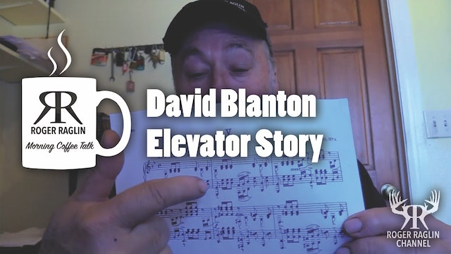 David Blanton  Elevator Story • Coffee Talk & Piano Playing