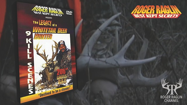 Legacy of a Whitetail Deer Hunter • Vintage VHS/DVD's