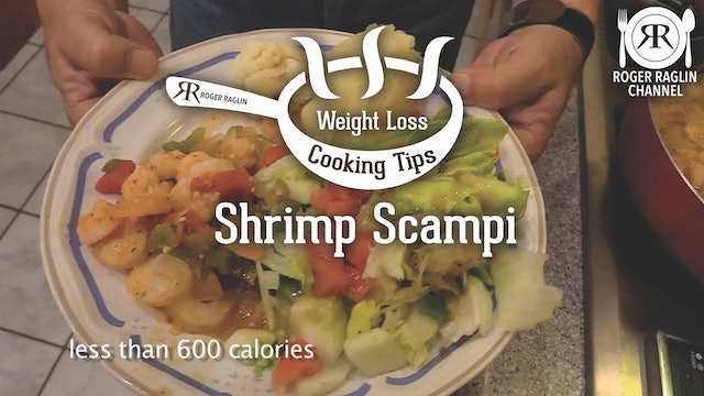 Shrimp Scampi Dinner • Weight Loss Cooking