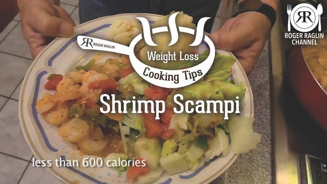 Shrimp Scampi Dinner • Weight Loss Co...