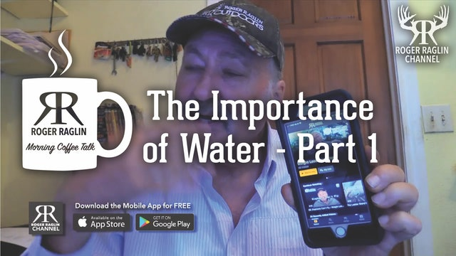 The Importance of Water - Part 1 • Morning Coffee