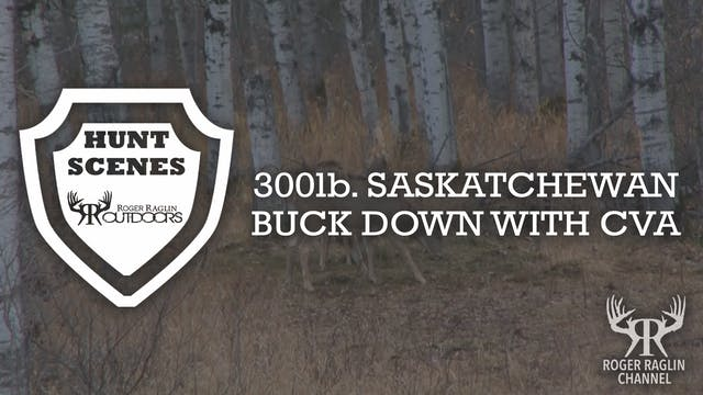 300lb. Saskatchewan Buck with CVA • H...