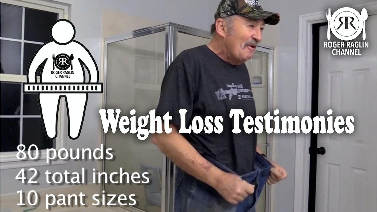 Weight Loss Testimonies
