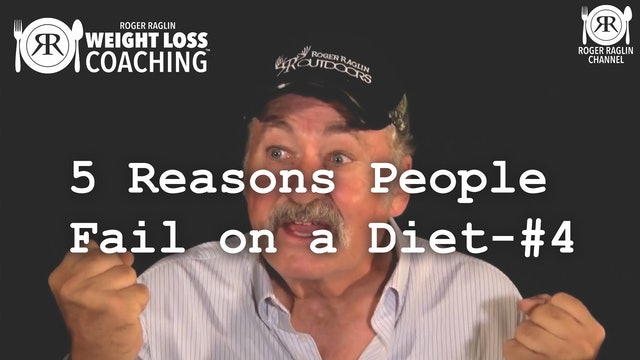 5 Reasons People Fail on a Diet - #4 • Weight Loss Coaching