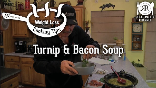 Turnip and Bacon Soup • Weight Loss Cooking Tips
