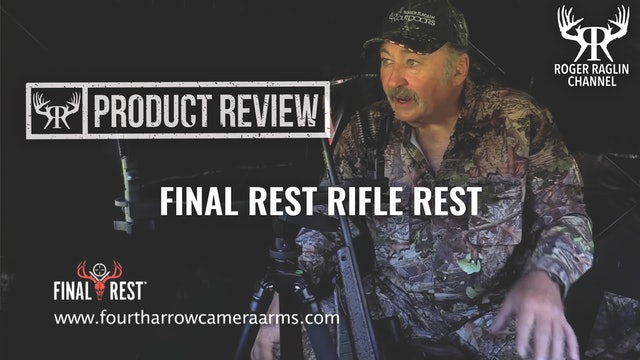 Roger's Final Rest Rifle/Crossbow Rest • Product Review