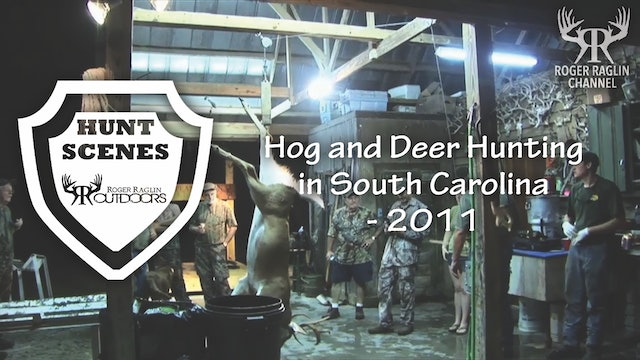 Hog and Deer Hunting in South Carolina - 2011 • Hunt Scenes
