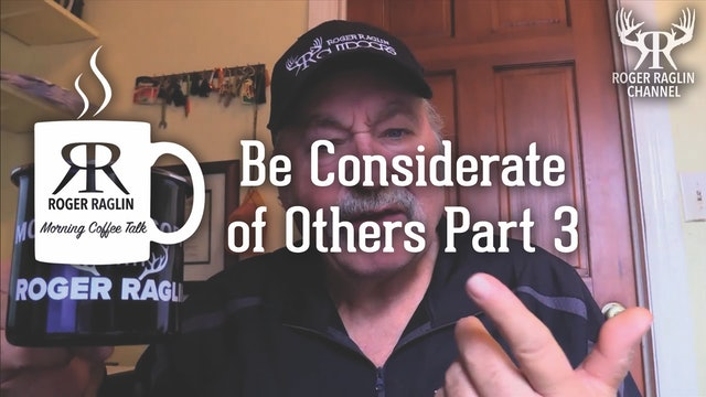 Be Considerate of Others Part 3 • Morning Coffee