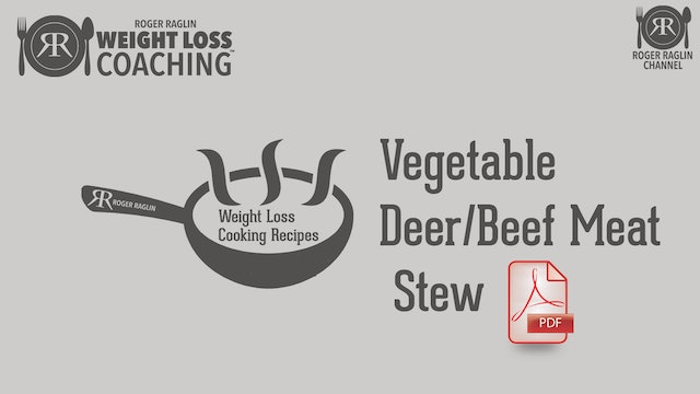 2019 Recipes Vegetable Deer Meat (beef) Stew.pdf