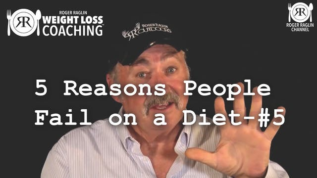 1E. 5 Reasons People Fail on a Diet P...