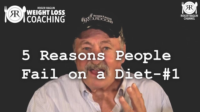 5 Reasons People Fail on a Diet - #1 • Weight Loss Coaching