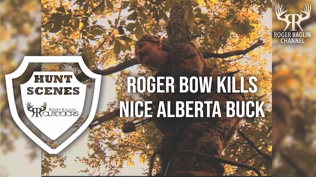 Roger Bow Kills an Early Season Alberta Buck • Hunt Scenes