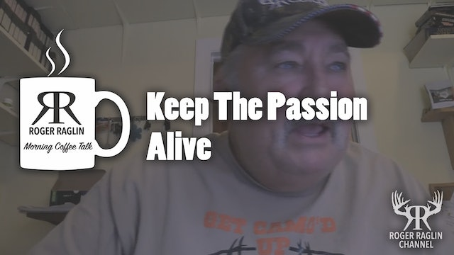 Keep the Passion Alive • Coffee Talk