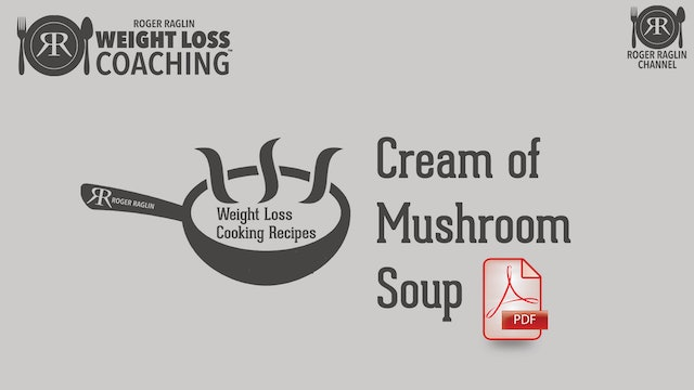 2019 Recipes Cream of Mushroom Soup 1.pdf