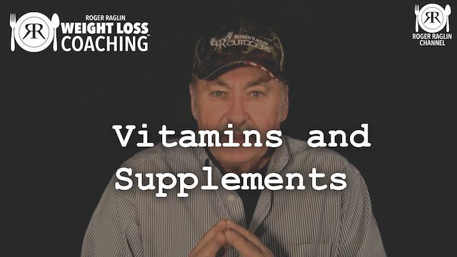 74. Vitamins and supplements • Weight...