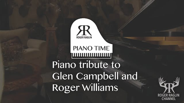 Piano tribute to Campbell and William...
