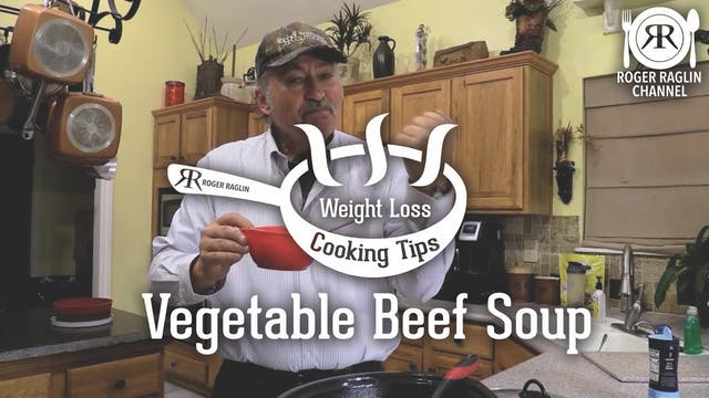 Vegetable Beef Soup • Weight Loss Coo...