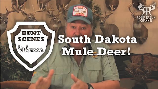 Roger Shoots a South Dakota Mule Deer...