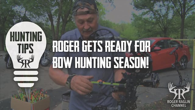 Roger Getting Ready For Bow Hunting S...