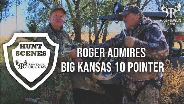Big Kansas 10 Pointer Springs a Leak • Hunt Scenes