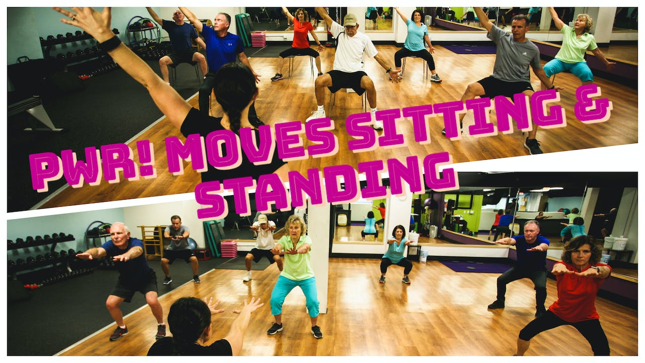 PWR! Moves Sitting & Standing Class Package!