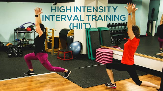 High Intensity Interval Class Package - Aug 2020