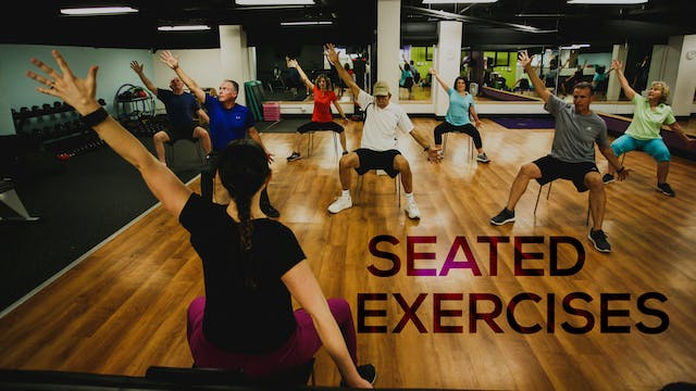 Seated Exercise Class Package - May + June 2020