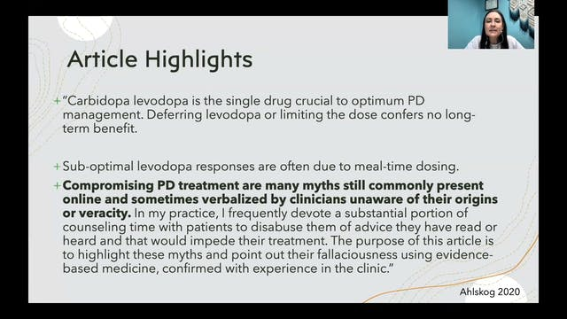 Medication Optimization Part 2 - December Educational Lecture