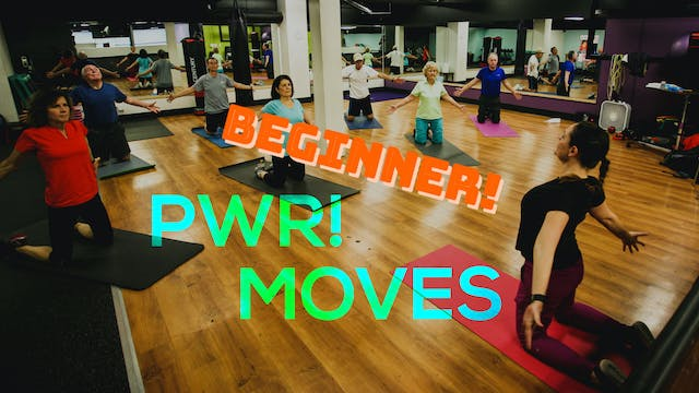 Beginner PWR! Moves Class Package!