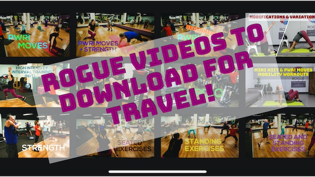 Exercise Videos to Download for Travel