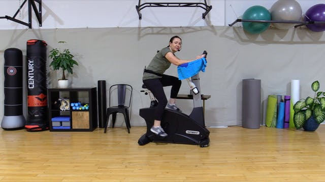 11-4-20 Cardio -- 40 Minutes with Intervals!