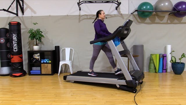 1-8-21 Cardio -- 40 Minutes with Intervals