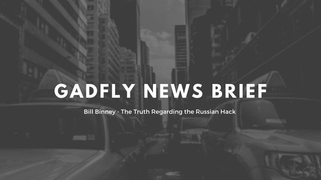 GF Newsbreak: Bill Binney - The Truth Regarding the Russian Hack (7/23/2020)