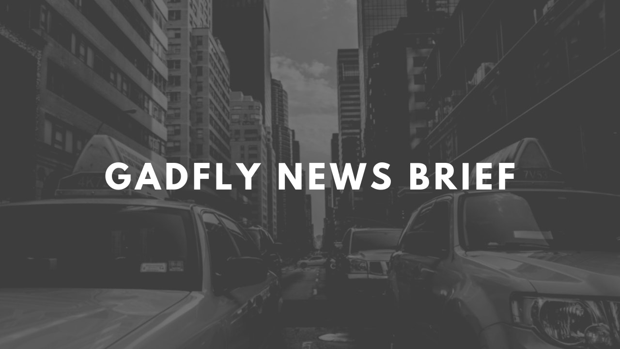 Gadfly News Briefs